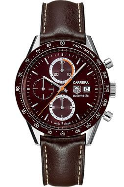TAG Heuer Carrera Automatic Chronograph 41 mm with Brown Aluminum HEU0169535 0e2c8ceb271