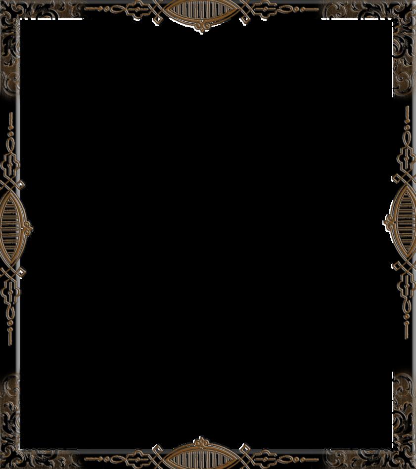Gothic Frame By Spidergypsy On Deviantart Frame Gothic Deviantart