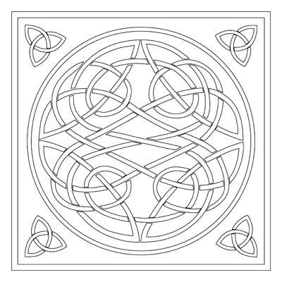 celtic knot design