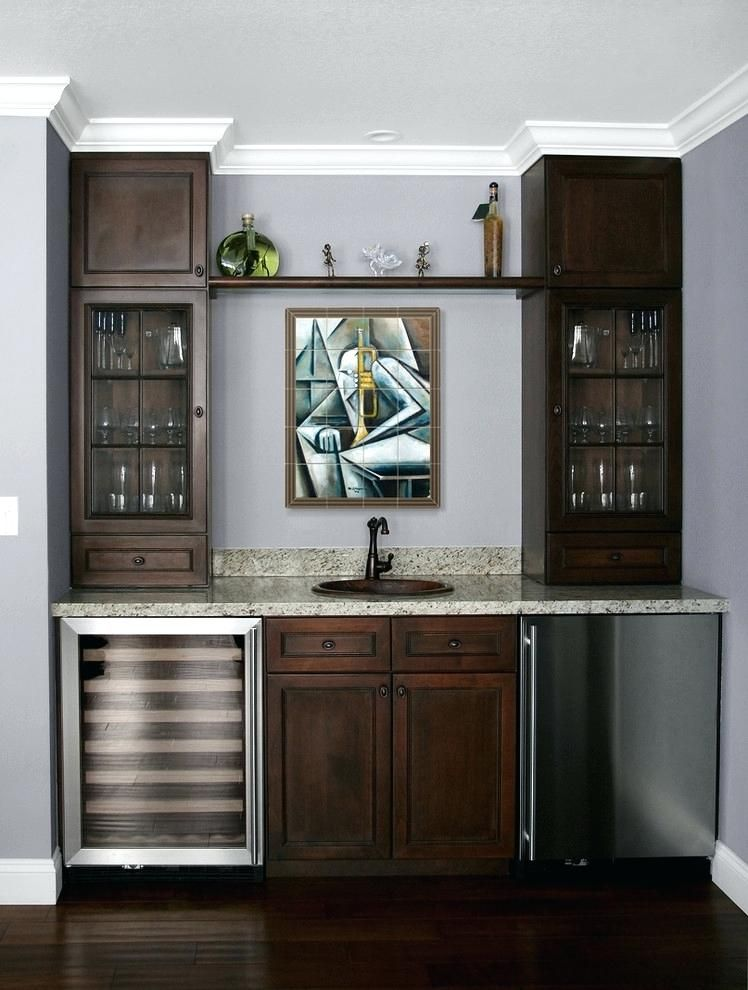 Wet Bar Ideas Family Room Contemporary With Gl Front Mini Modern Tile Jazz Refrigerator For