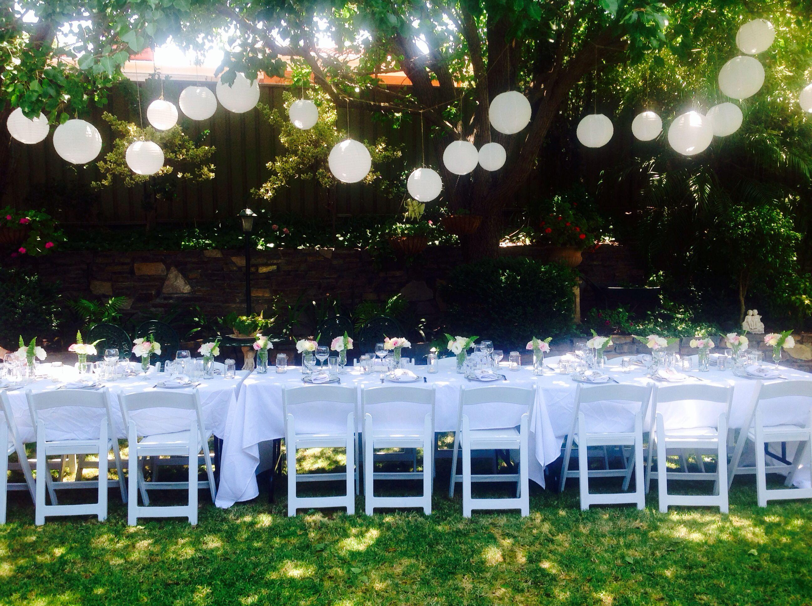 My Garden engagement party decor! | Engagement Party ideas ...