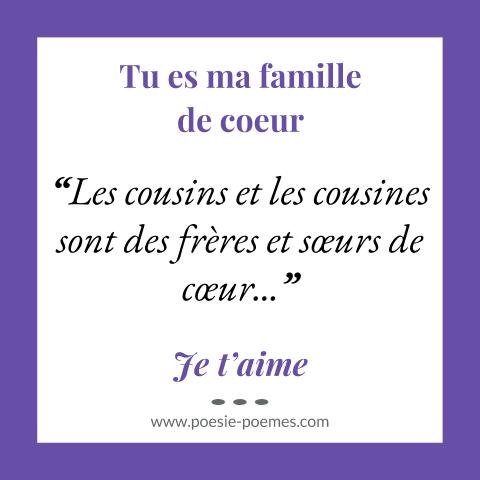 Citation Sur Les Cousines Et Cousines Pour Dire Je Taime