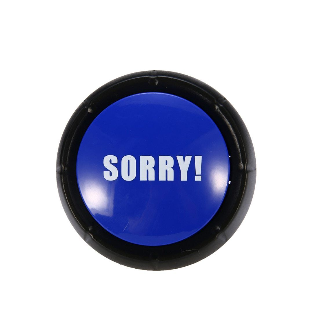 1PC Sound Talking Funny Button NO YES MAYBE SORRY Event Game
