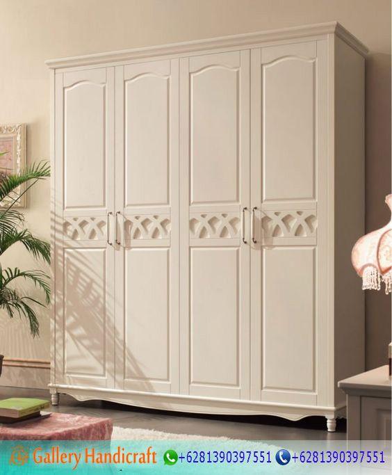 Lemari Pakaian Pintu 4 Minimalis Duco -