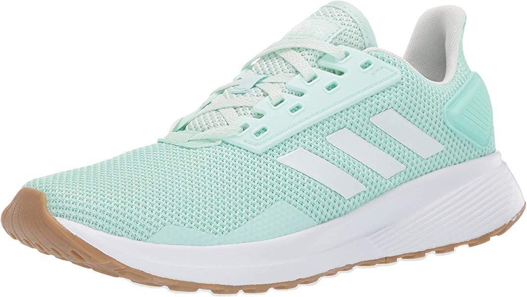 Amazon.com | adidas Women's Duramo 9 Running Shoe, Clear ...