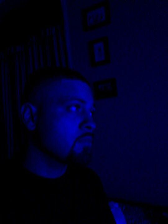 me feeling blue...lol