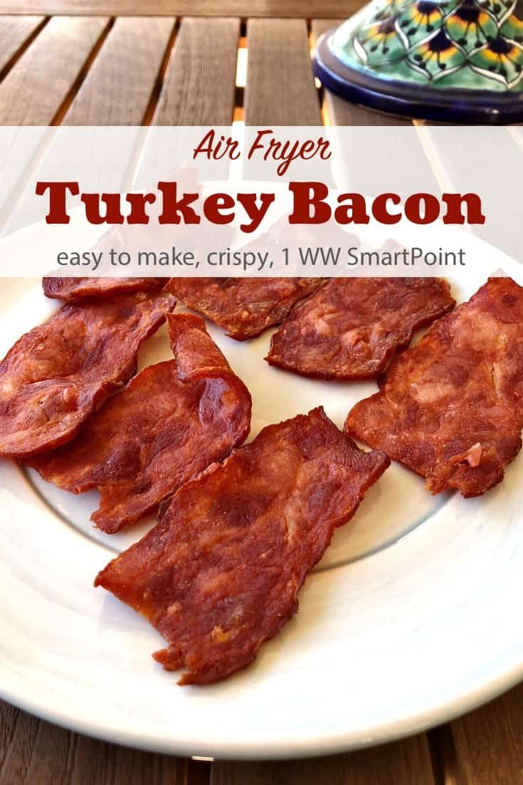 Photo of Air Fryer Crispy Turkey Bacon | Simple Nourished Living