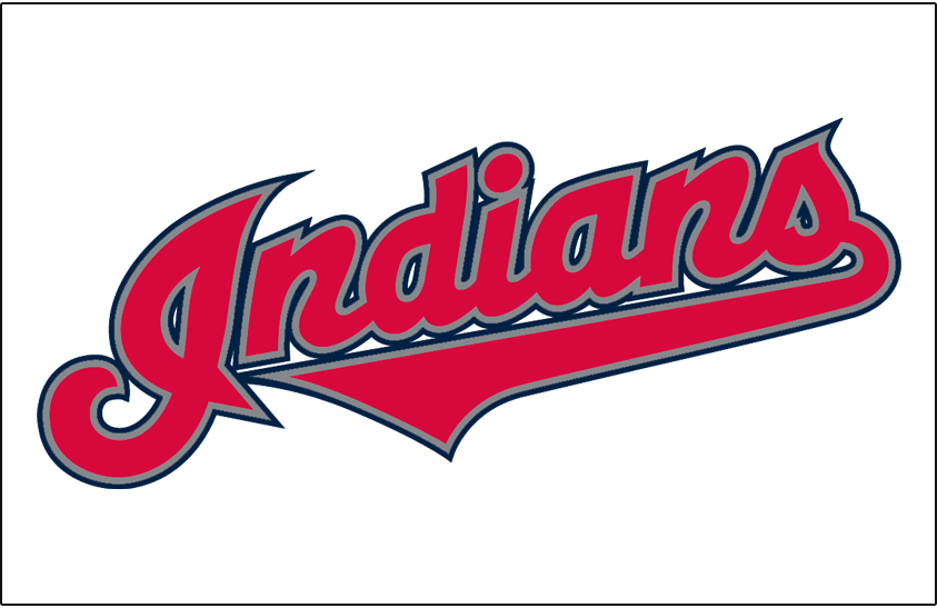 Cleveland Indians Jersey Logo (2002) (Home) Indians in
