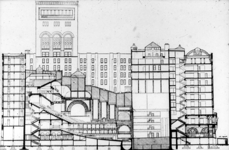 Auditorium Bldg, 1887-89 Alder & Sullivan, Chicago