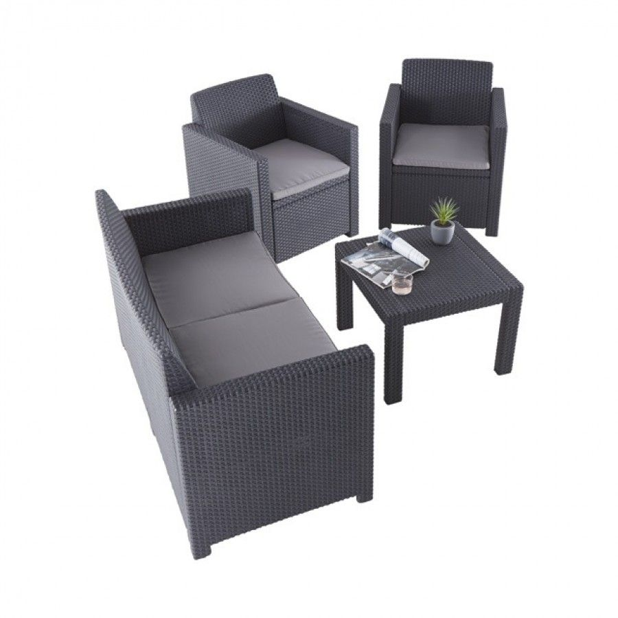 salon alabama set graphite - ALLIBERT | Wishlist | Pinterest ...