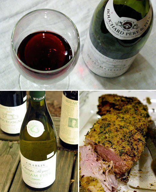 Food and Wine Pairing:  A Grilled Summer Menu of Herbed Pork, Tender Ravioli, and Garden Greens