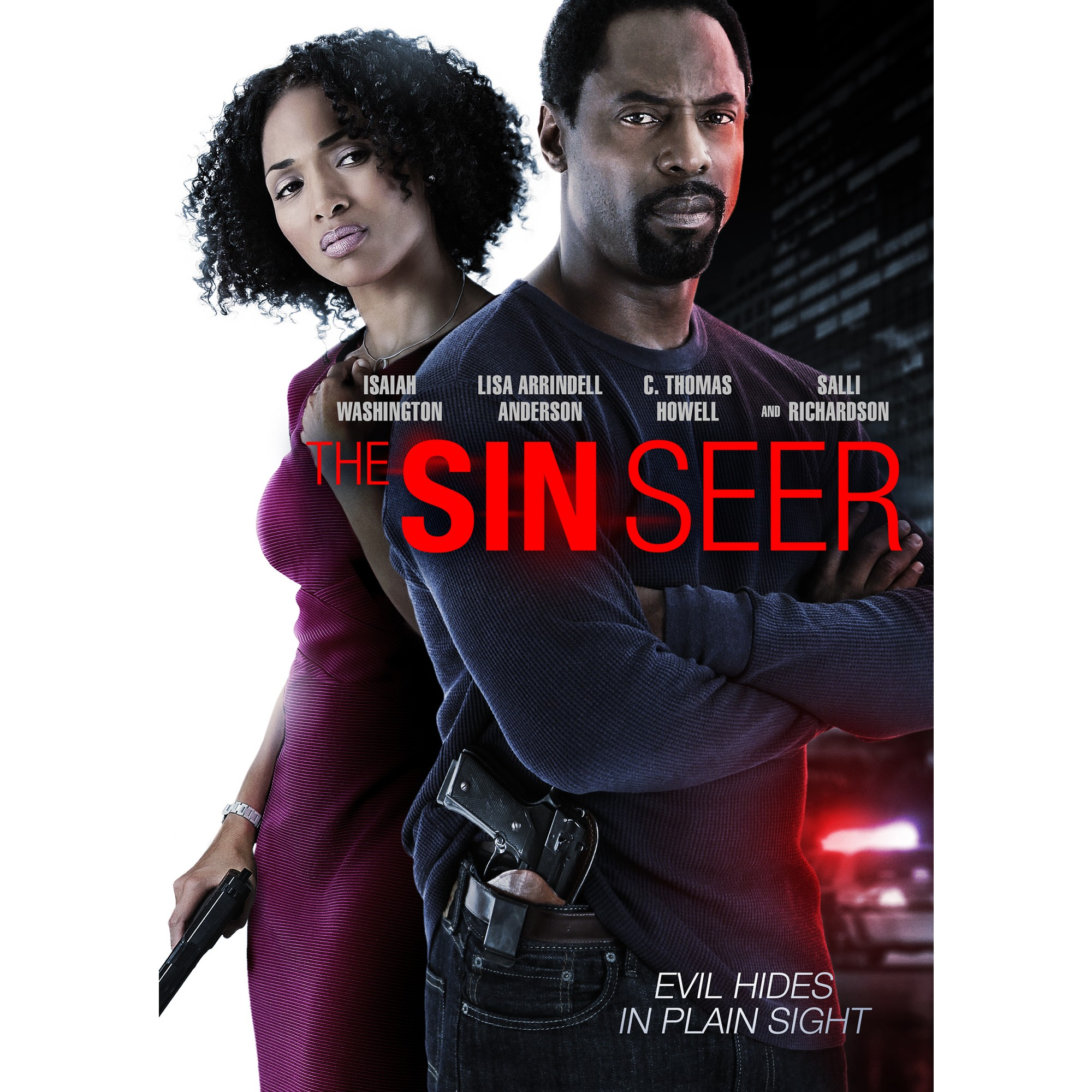 The Sin Seer Dvd Film Tape Isaiah Washington Video On Demand