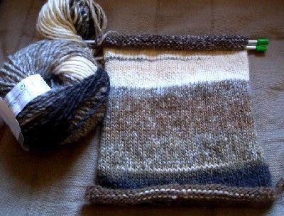 profiter du meilleur prix regarder San Francisco Une écharpe rayée : modèle de tricot pour débutants   Tricot ...