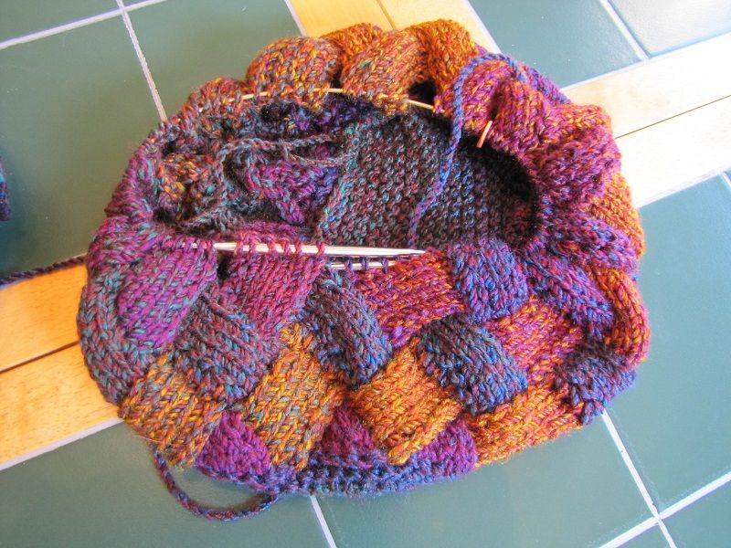 Drawstring patchwork bag patchwork bags knitting crochet