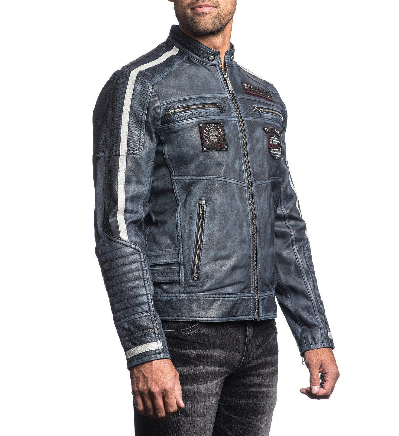 Mens Jackets Velocity (With images) Affliction