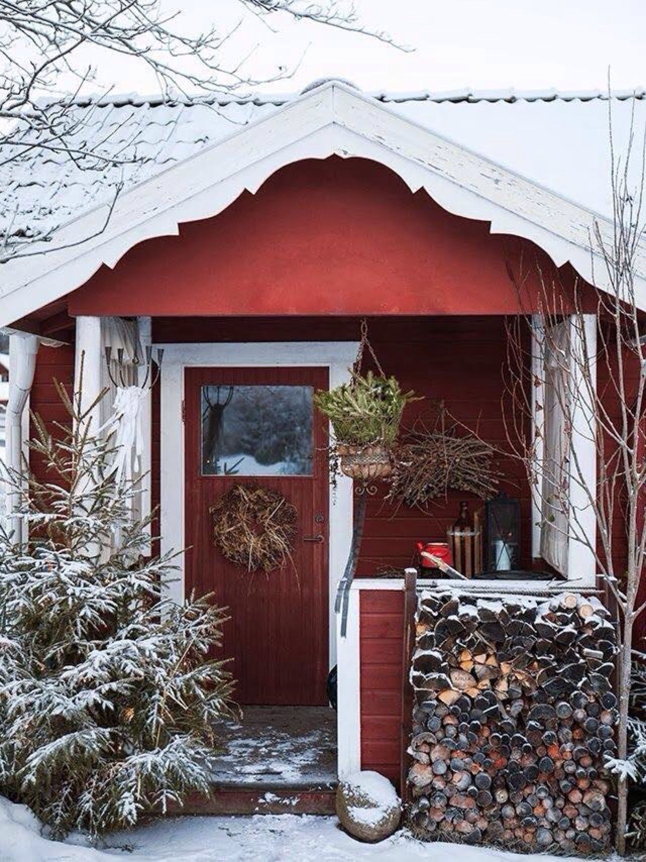 Moment 39 s winter garten pinterest - Skandinavisches gartenhaus ...