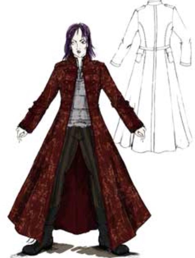 """Concept art of Nymphadora Tonks from """"Harry Potter and the Order of the Phoenix"""" (2007)."""