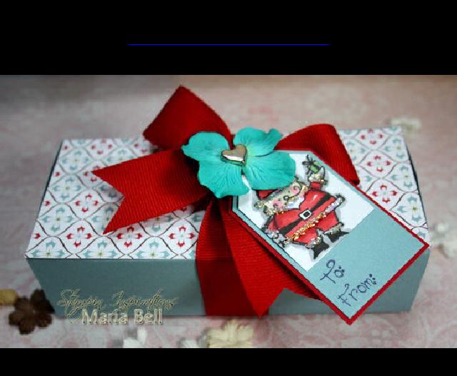 2.5x5.5 Gift Box tutorial