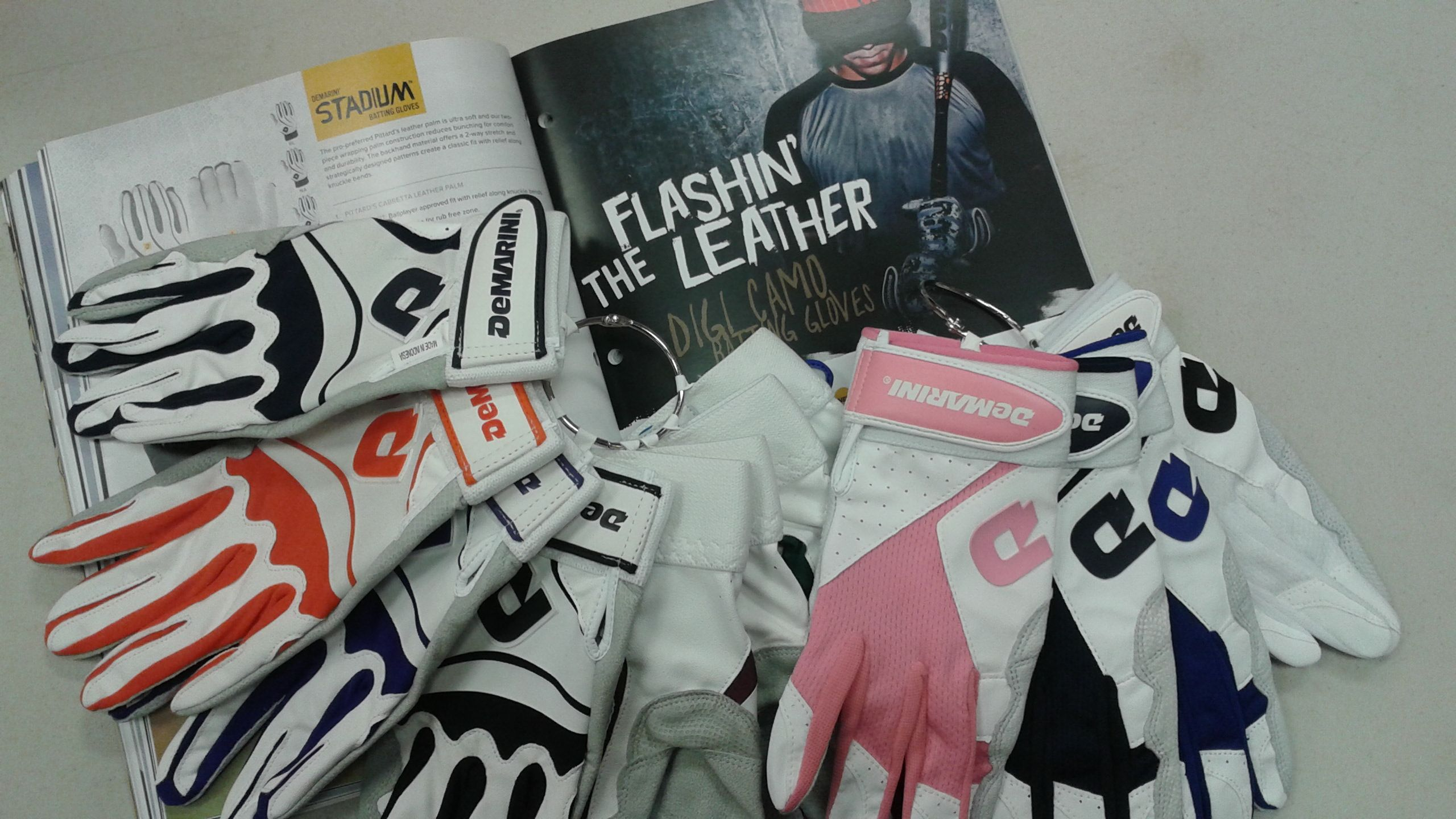 New batting gloves hitting stores soon a color for every