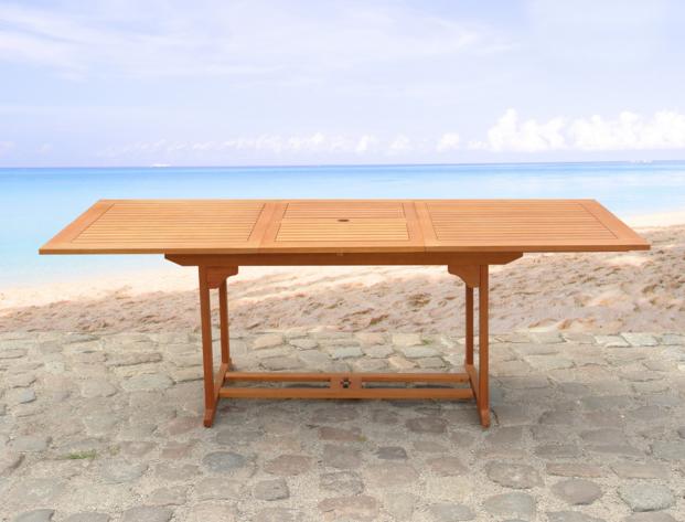 Esstisch Ausziehbar Holz Gartenmöbel Aus Holz Schreibtisch Tisch Ausziehbar  Container Sehr Schlank Perfekt Verarbeitet In Lack