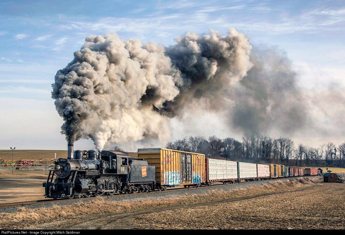 Train to colorado from pa - Net Photo Src 89 Strasburg Rail Road Steam At Strasburg Pennsylvania By Mitch Goldman