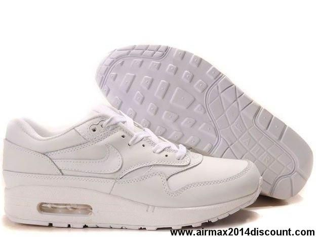 Buy Cheap Mens 307101-111 Nike Air Max 1 White White Shoes Store