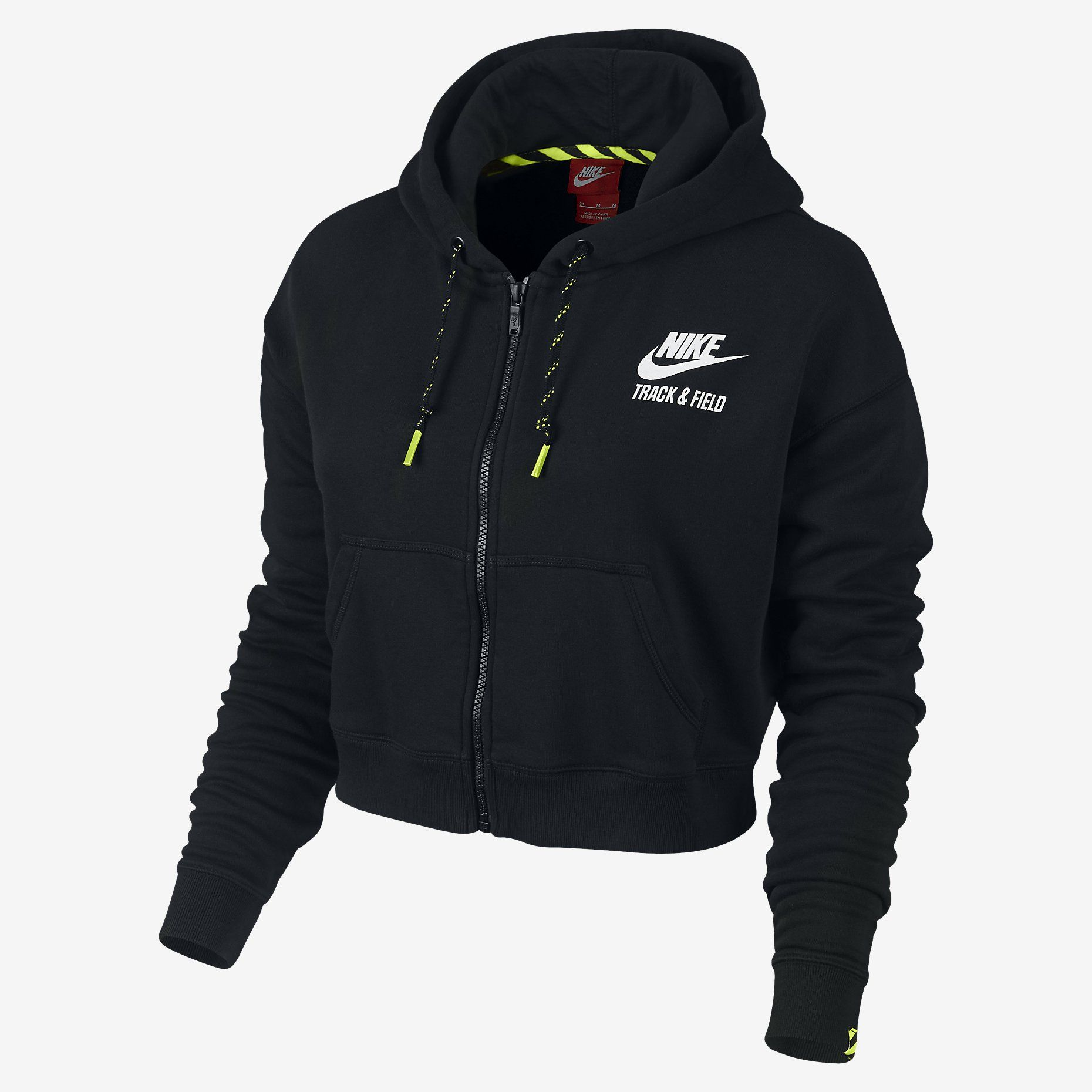 Nike TF Cropped Women's Hoodie. Nike Store | Hoodies womens