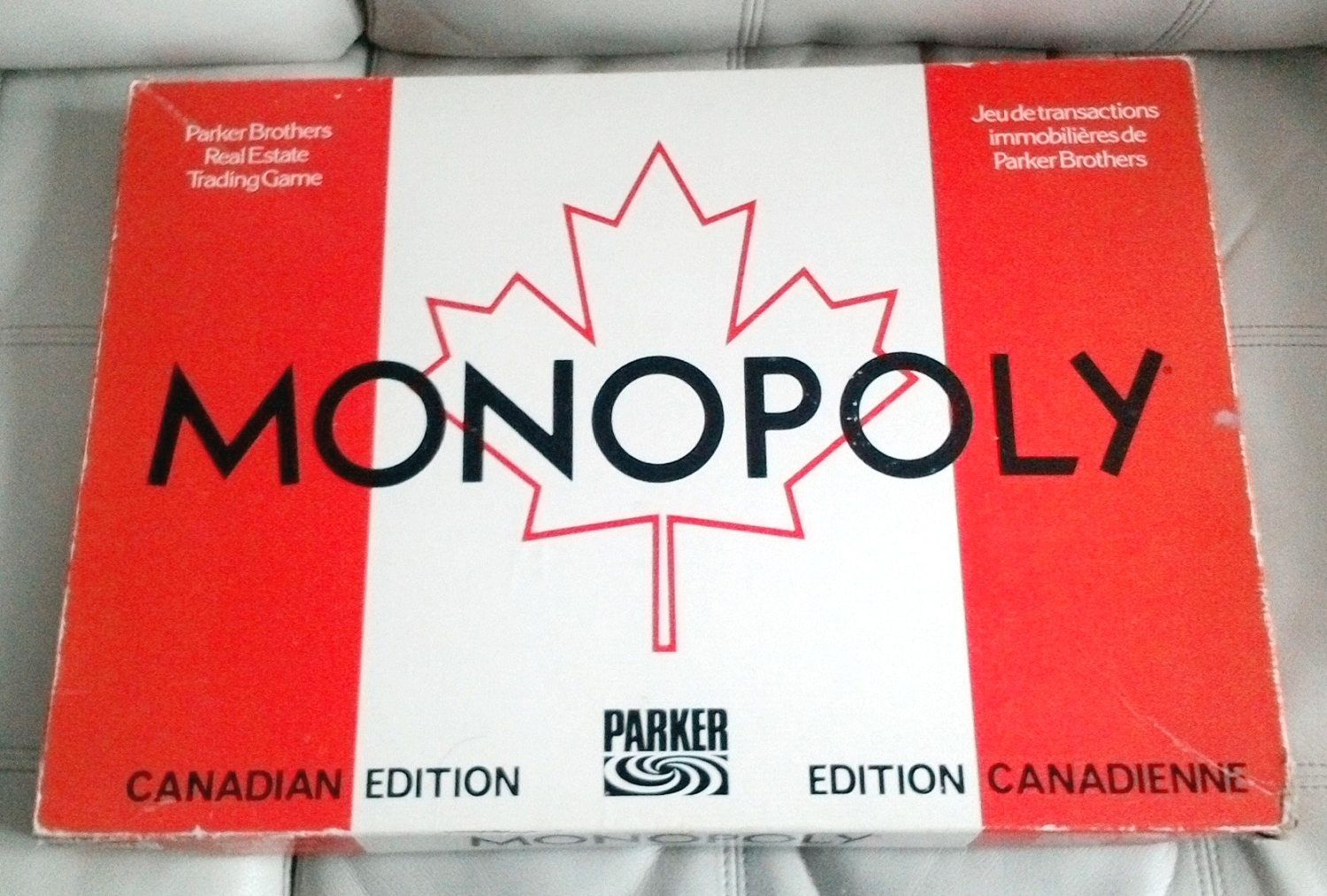 Vintage canadian edition monopoly 1961 100 complete with rules instructions board game bilingual version french