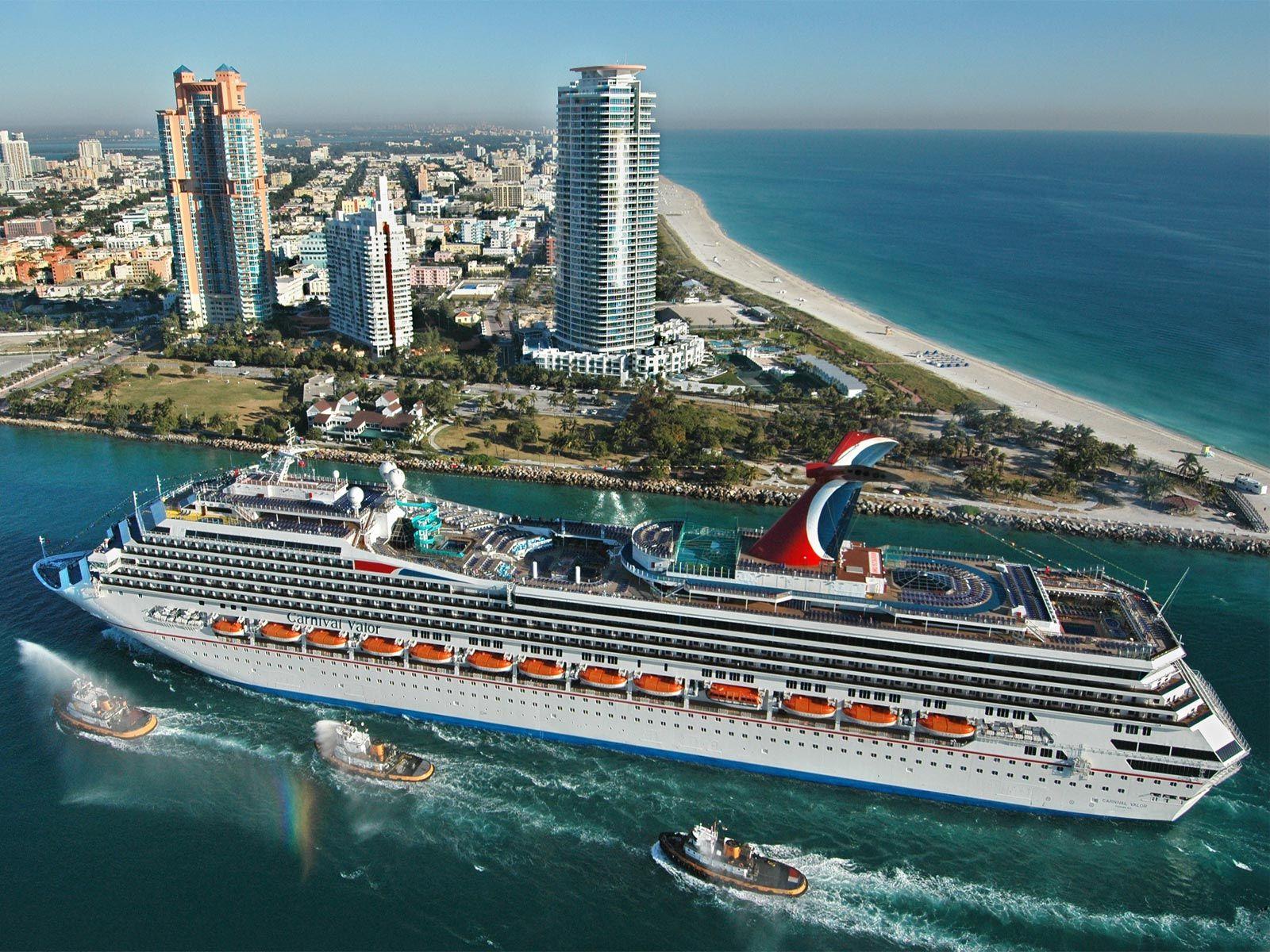 Carnivalvalorcruiseshippassesmiamibeachfreewallpaper The - Best cruises from florida