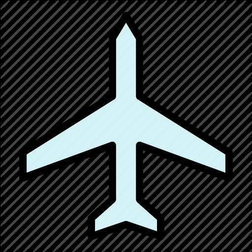 Airplane Mode Plane Icon Download On Iconfinder Plane Icon Icon Summer Icon