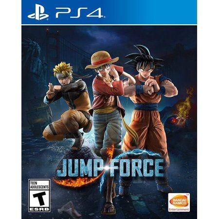 Jump Force Bandai Namco Playstation 4 722674121743 Walmart Com Bandai Namco Entertainment Xbox One Ps4 Games