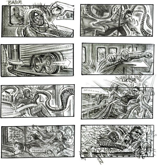 Les Storyboards De Films Cultes Dvoils En Images  Konbini France