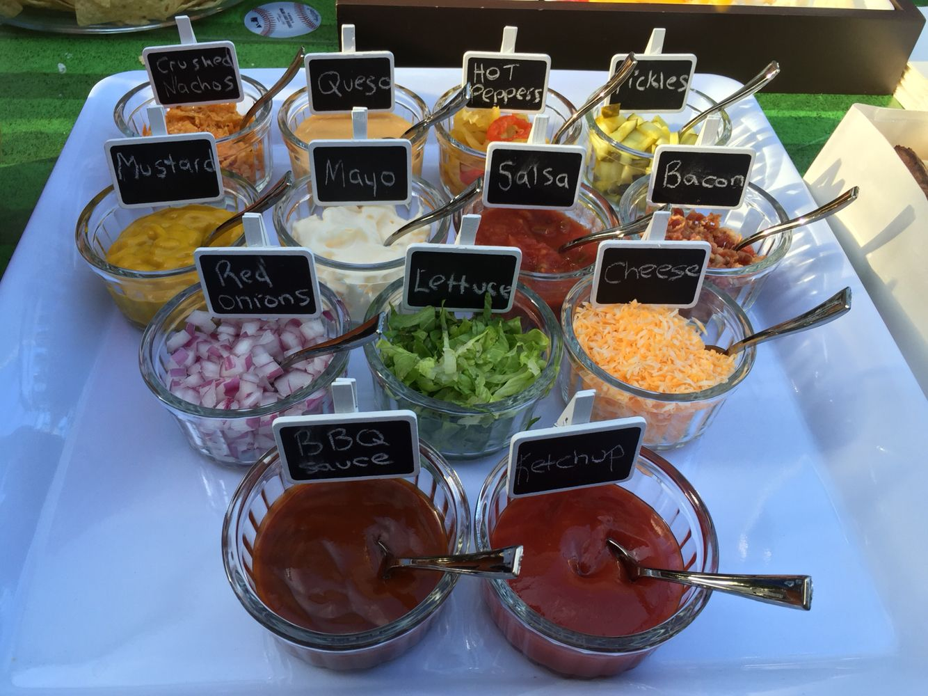 13 different hot dog bar condiments | Toronto Blue Jays / Baseball ...