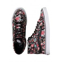 47955ee69032 Vans - SK8-HI Slim Multi Floral Black True White - Girl Schuhe ...