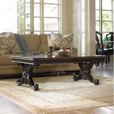 hooker furniture urbanity grandover coffee table | wayfair