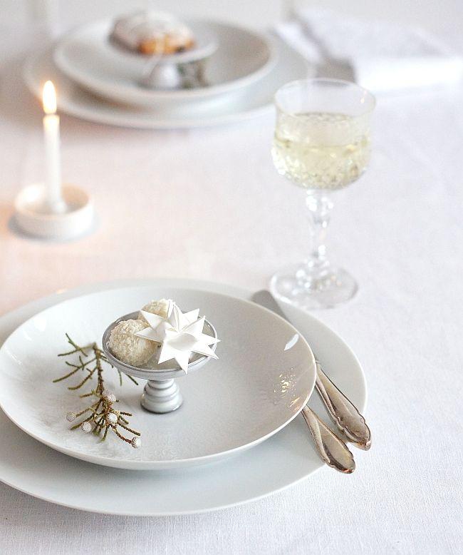 Richtig Tisch Decken: Frohes Fest!