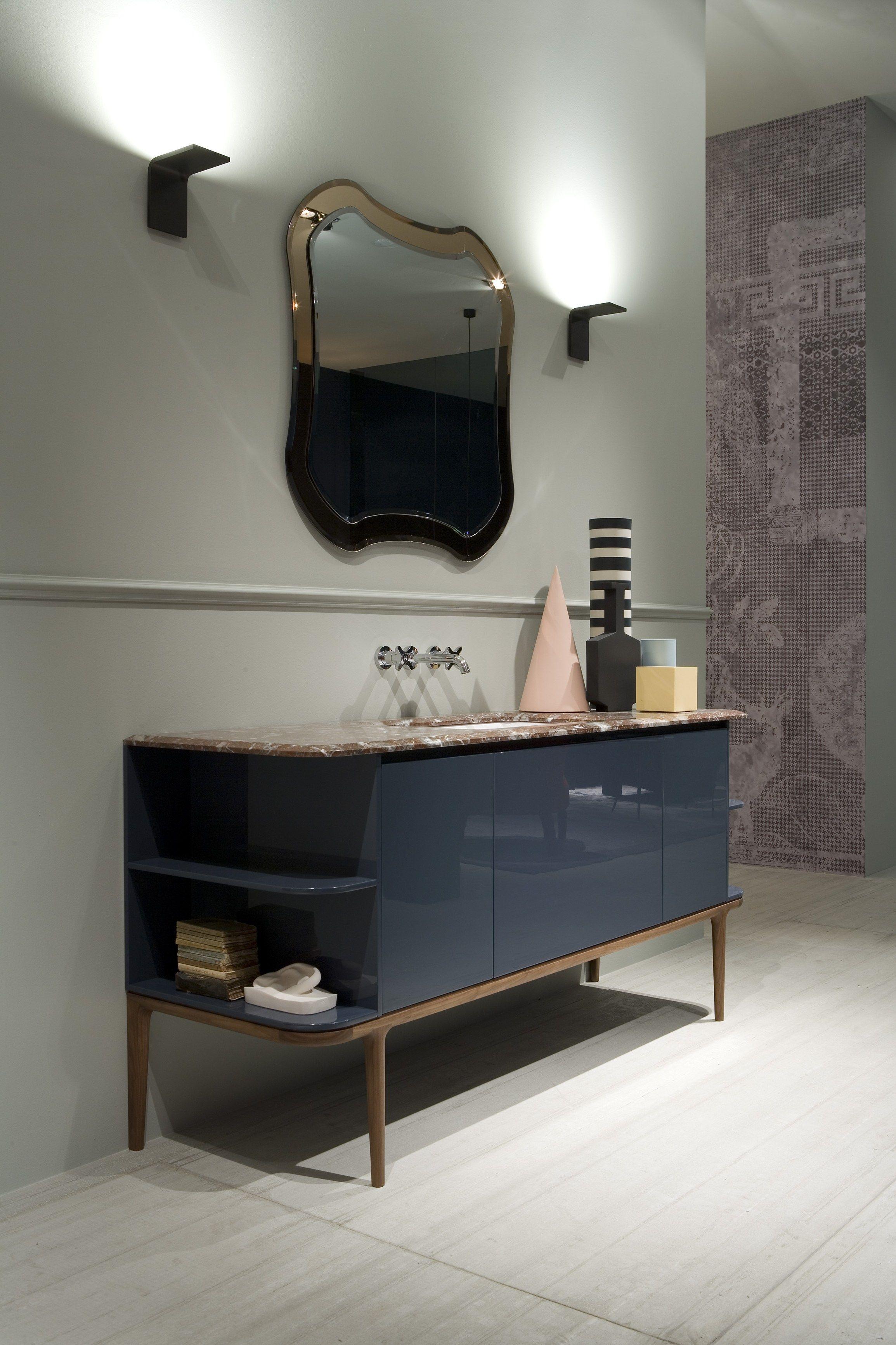 Lackierter einzel waschtischunterschrank kollektion for Design waschtischunterschrank