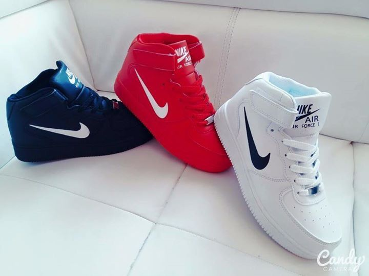 63e9d1fb344f shoes nike nike shoes nike sneakers nike air force 1 nike air force mens  shoes white high top sneakers black and white