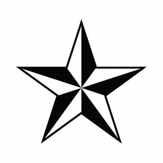 Nautical Star Texas Star Vector Logo Design Element Emblem Etsy Texas Star Nautical Star Tattoos Nautical Star