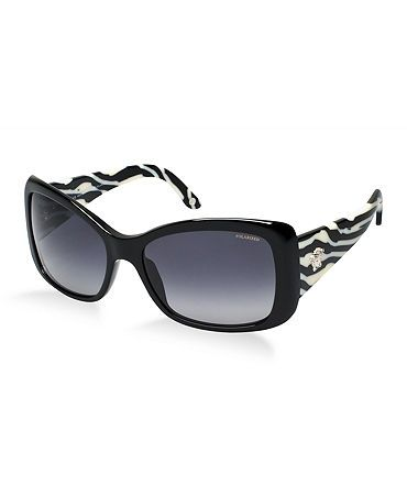 8785517a9f0 Black   white cat eye sunglasses by Versace - modern and trendy design with  classic lines