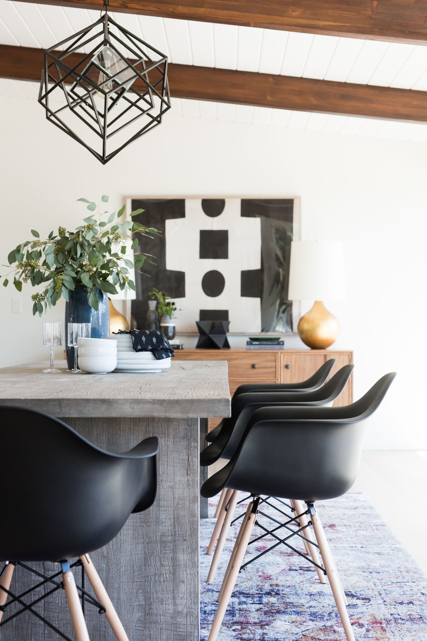 An Eclectic Take on Mid Century Modern