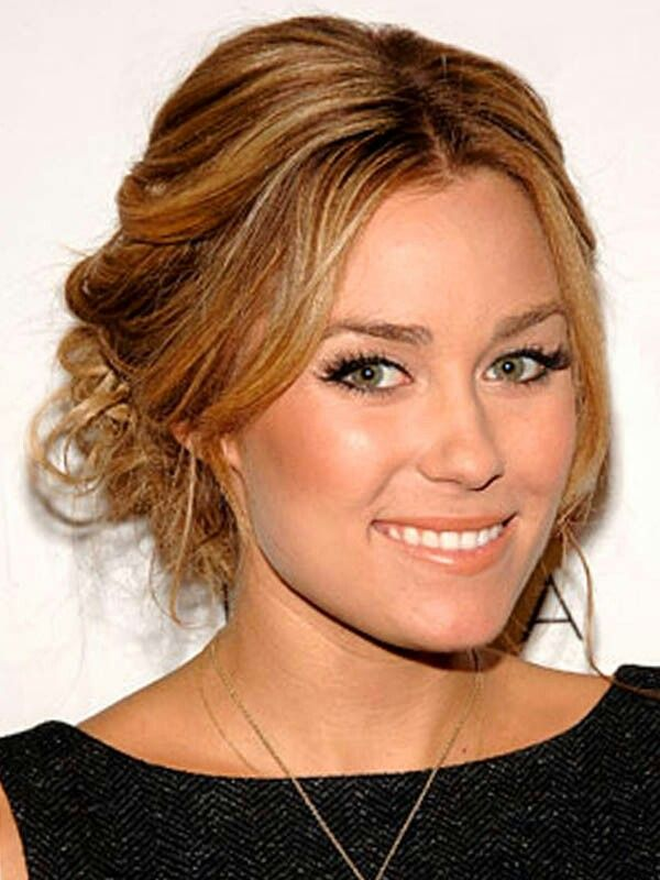 Lauren Conrad Upstyle   Casual hair updos, Hair up styles ...