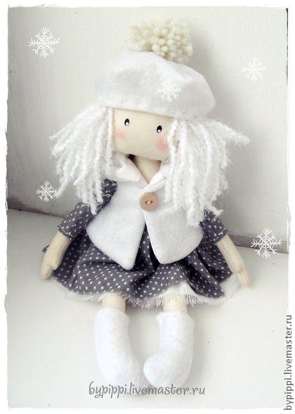 "Povos artesanais. Mestres justo - Menina handmade ""Inverno"". Handmade."