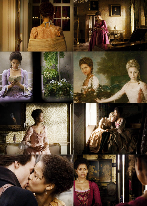 Gugu Mbatha-Raw as Belle #LOVE THIS MOVIE SO MUCH  #interracial couple