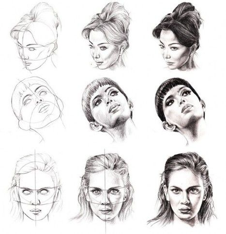 Face Drawing References