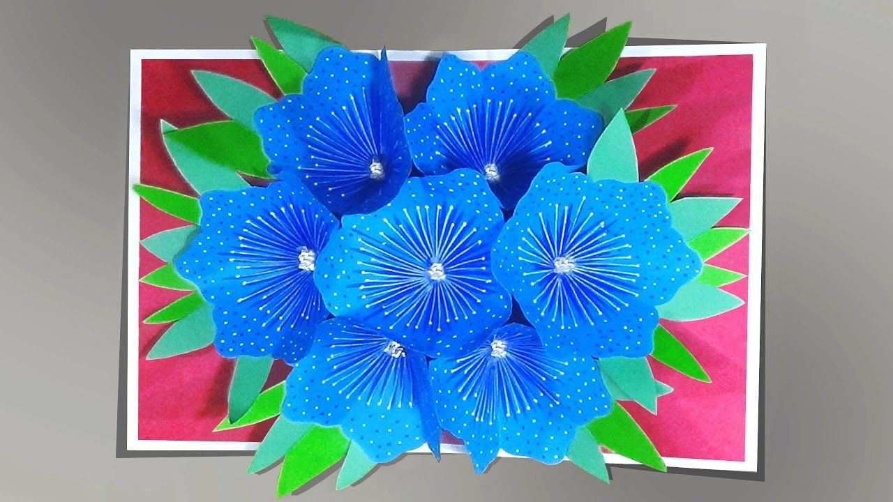 How to make a 3d flower pop up card youtube quilling mothers how to make a 3d flower pop up card youtube m4hsunfo Image collections