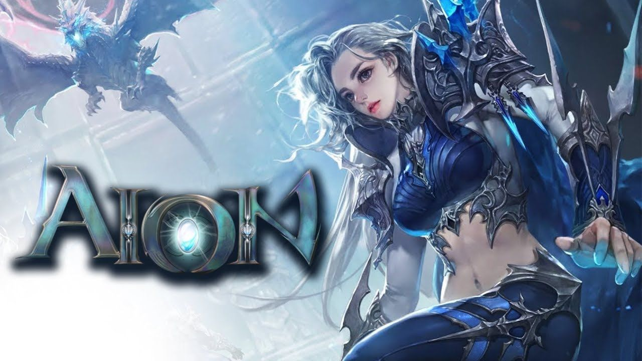 Aion in 2019 YouTube Game logo design, Featured art