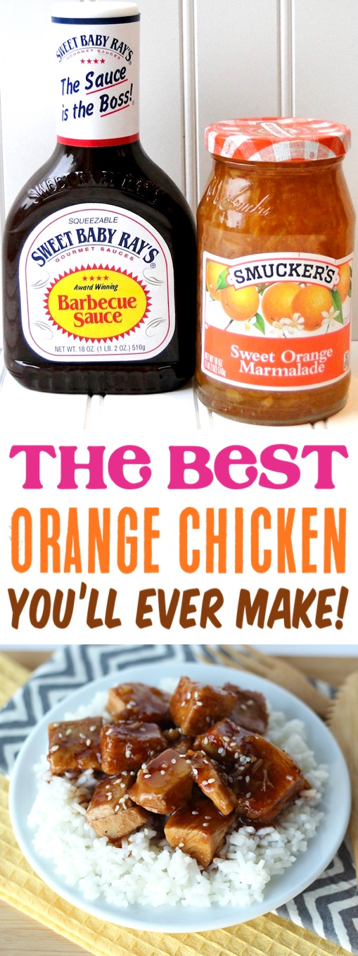 Crockpot Orange Chicken Recipe! {Just 4 Ingredients} - The Frugal Girls