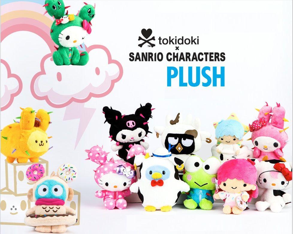 Tokidoki X Sanrio Plush Hello Kitty Sanrio Cat