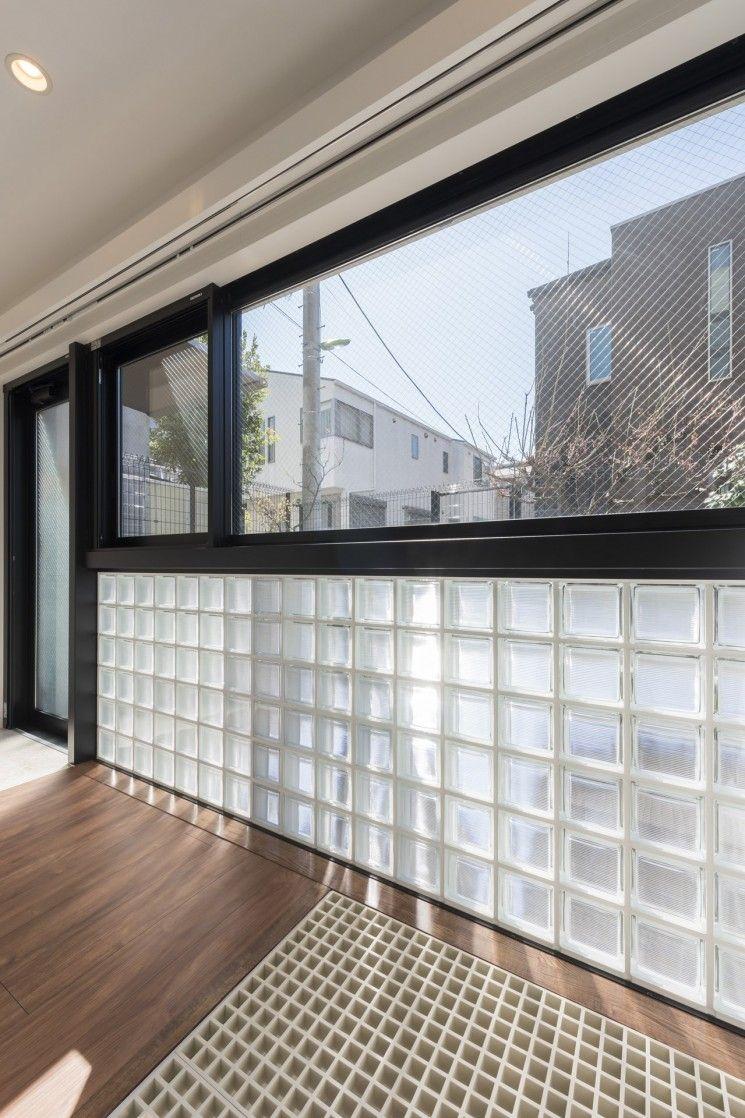 廊下 階段 大きな開口 多面開口 Frpグレーチング ガラスブロック サブ